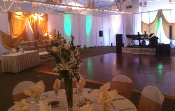 Dance Floor in banquet hall